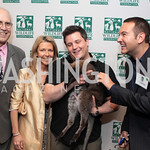 Chevy Chase, Jayni Chaase, Marc Adelman. National Wildlife Federation's 75th Anniversary Gala honoring Robert Redford at Hyatt Regency Capital Hill. Photo by Alfredo Flores. April 13, 2011 ...