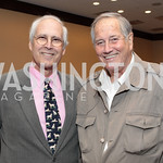 Chevy Chase, Jim Fowler. National Wildlife Federation's 75th Anniversary Gala honoring Robert Redford at Hyatt Regency Capital Hill. Photo by Alfredo Flores. April 13, 2011.