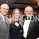 Chevy Chase, Geneva Boyer, Larry Schweiger, National Wildlife Federation's 75th Anniversary Gala honoring Robert Redford at Hyatt Regency Capital Hill. Photo by Alfredo Flores. April 13, 2 ...