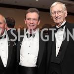 Charlie McIntosh, Michale Trayner, John Parkfield Lewis. National Wildlife Federation's 75th Anniversary Gala honoring Robert Redford at Hyatt Regency Capital Hill. Photo by Alfredo Flores ...