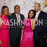 Monique Anderson Walker,Dwayne Davis,Montina Anderson,Montez Anderson,Pink Tie Party,March 23,2011,Kyle Samperton
