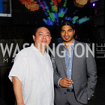 Charles Zhou,Vinoda Basnayke,Roaring 20's Party at Eden,July 28,2011,Kyle Samperton
