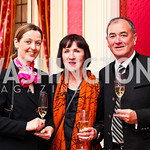 Katja Matthews, Erna Kubin-Clanin and Rene Clanin. VIP reception for Relais & Chateaux Hotels. Photo by Tony Powell. French Ambassador's residence. March 28, 2011