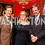 Rep. Russ Carnahan and Judge Debra Carnahan, French Ambassador François Delattre. VIP reception for Relais & Chateaux Hotels. Photo by Tony Powell. French Ambassador's residence. March 28,  ...