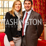 Julie Onuffer, Damon Newpher. VIP reception for Relais & Chateaux Hotels. Photo by Tony Powell. French Ambassador's residence. March 28, 2011