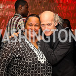 Tonya Lombard, Timothy Greenfield-Sanders. Photo by Tony Powell. Kareem Abdul-Jabbar Private Dinner. June 6, 2011