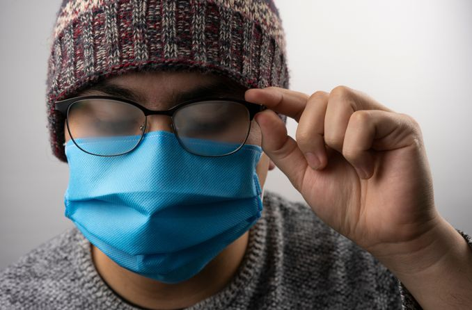 Wear A Tight Fitting Mask To Avoid Foggy Glasses