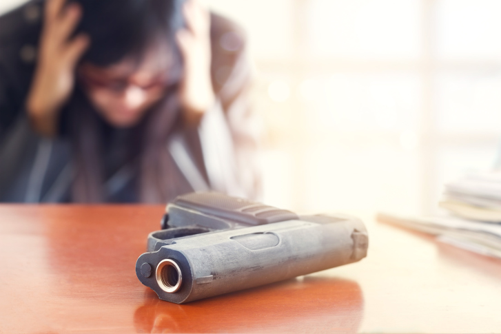 Rise In Gun Suicide Cases Amongst Youths Of America
