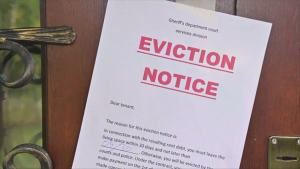 Don't Go For Eviction Says CDC