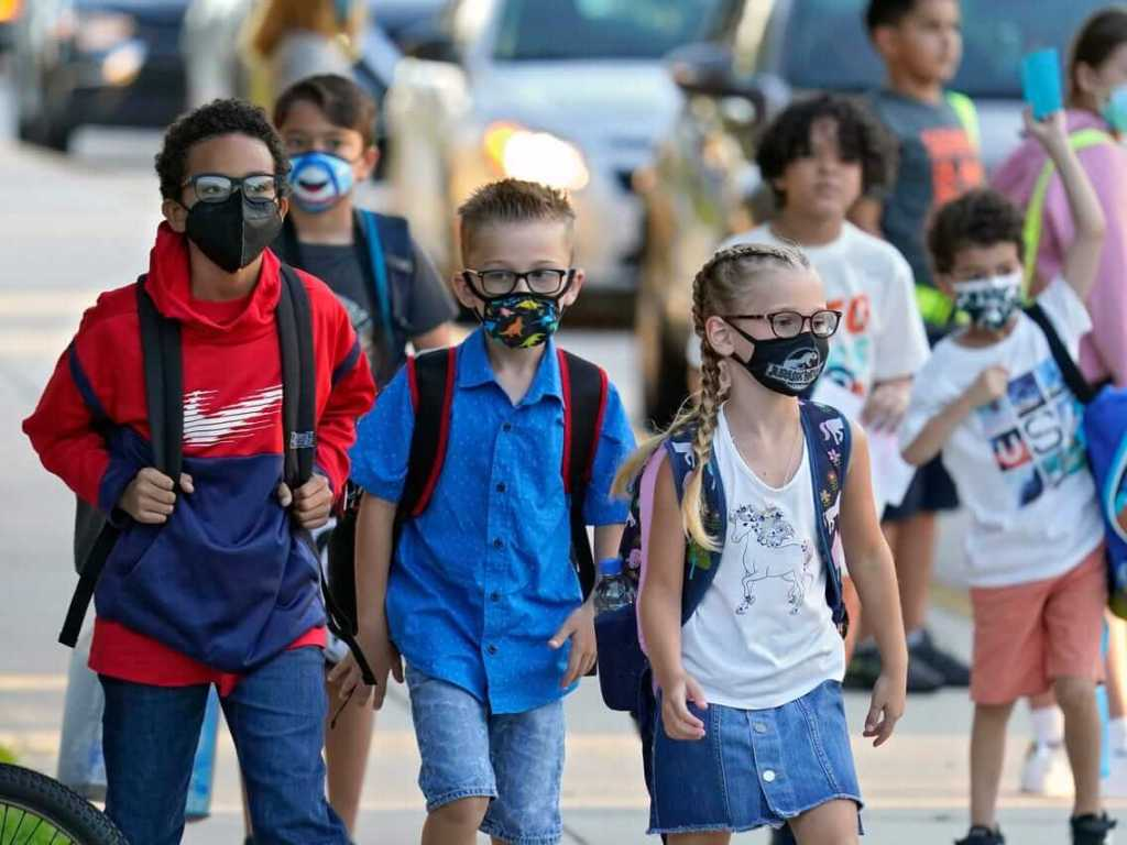 White House Leans On States, School Districts To Ignore Bans On Mask Mandates
