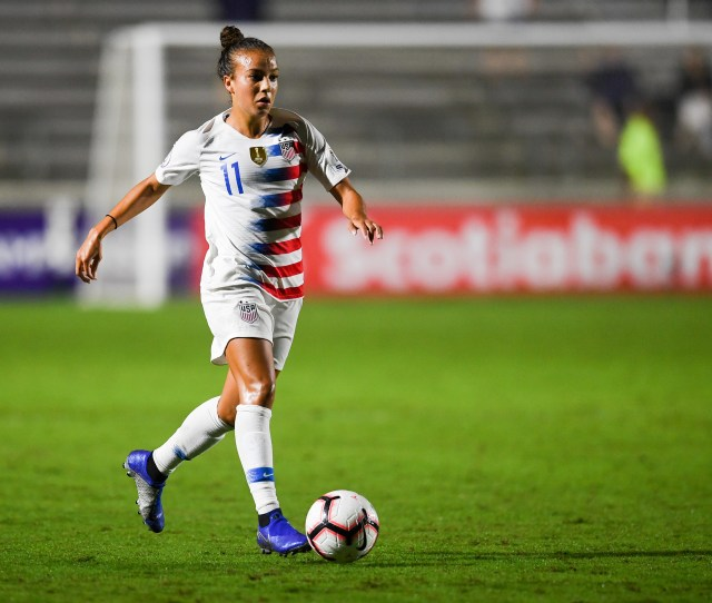 Mallory Pugh Excited To Be Playing Back Home In Upcoming U S Wnt Friendly
