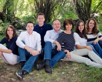 Pres & Sis Dymock with their children Jen, Jason, David, Heather & Ashley