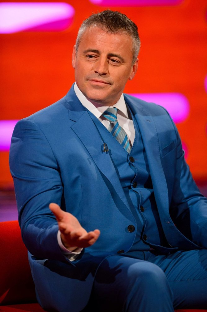 matt leblanc car show