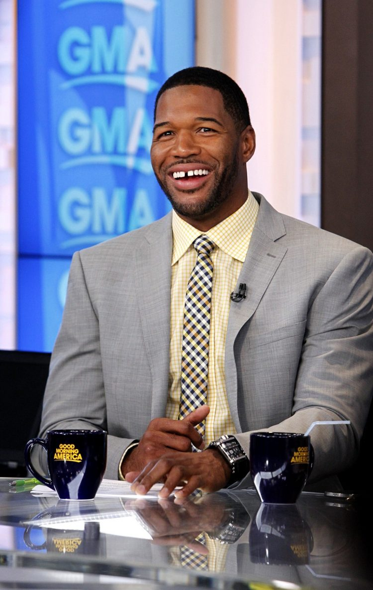 michael strahan biography