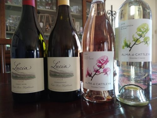 Wine in the Time of Coronavirus, Part II (Alma de Cattleya & Lucia Recent Releases)