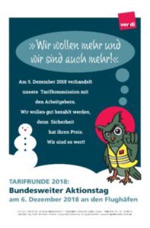 Flyer Aktionstag Nikolaus 2018