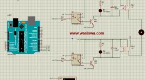 arah putar motor dc dg arduino
