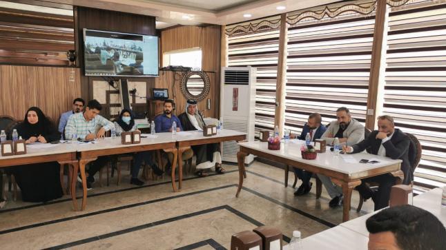 لجنة الحوار والسلم المجتمعي تنظم الورش التمهيدية لتشكيل فريق محافظة واسط