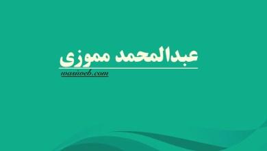 Photo of ارواښاد عبدالمحمد مموزی