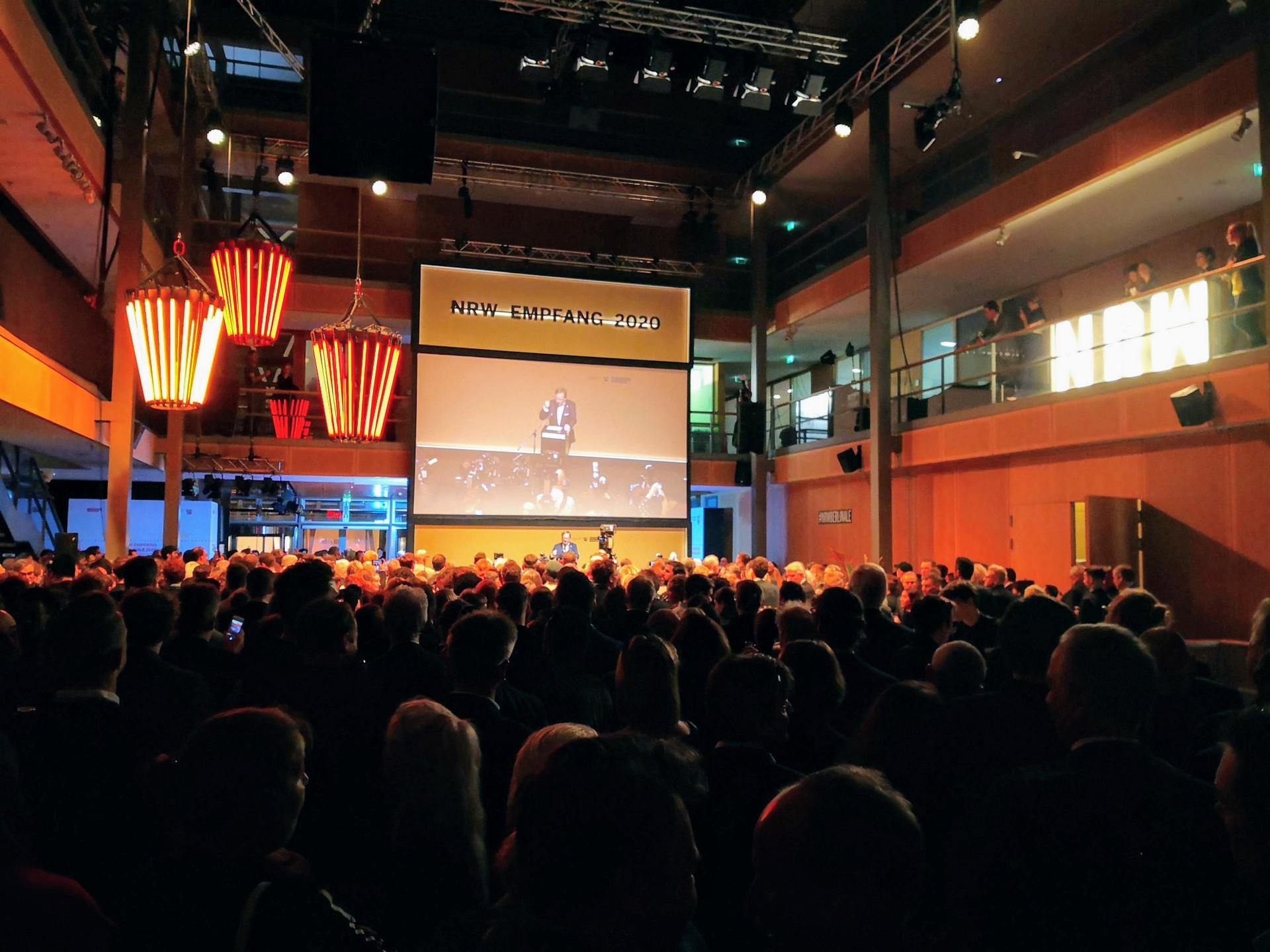 NRW-Emfpang Berlinale 2020 mit Laschet