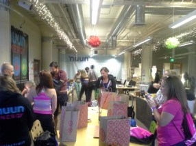 Nuun HQ. Such a bright, energetic space!