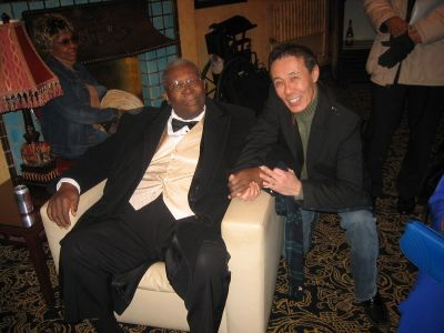 Bobby Murray mit B.B. King
