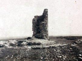 Die Ruine des Lichtenturms 1939
