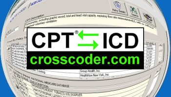 CrossCoder for Medical/Diagnosis Codes 2017 Professional ...