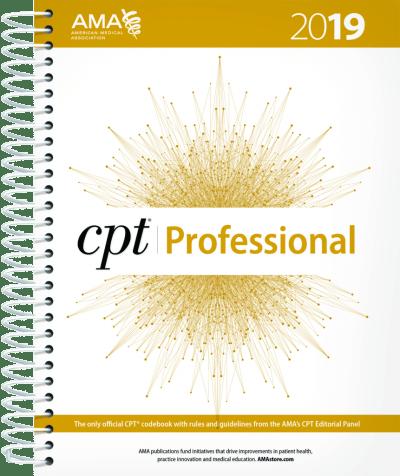 AMA CPT Professional 2019