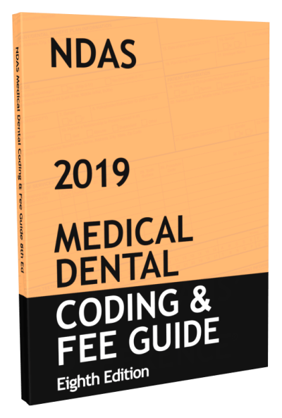 NDAS Medial Dental Cross Coding Book 2019