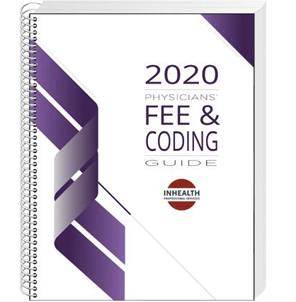 InHealth 2020 Physicians' Fee & Coding Guide - Spiralbound