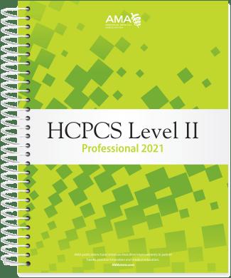 AMA HCPCS 2021 Level II Codebook