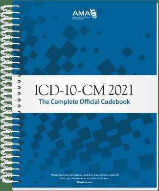 ICD-10-CM 2021 Codebook AMA
