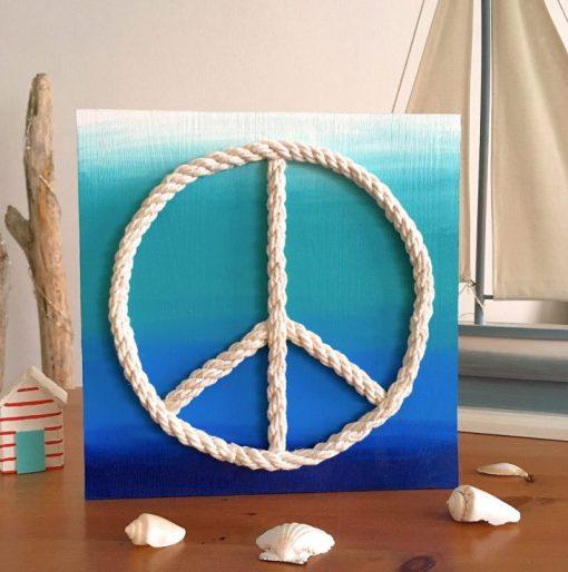 Peace Zeichen Seil