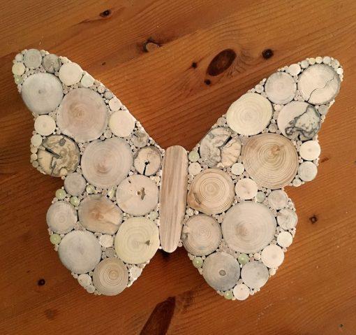Schmetterling Treibholz