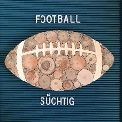 Football aus Treibholz