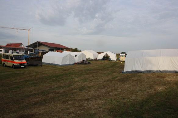 3 Zelte Lanco 2x SG 20, 1x SG 30, 1x Pavillon