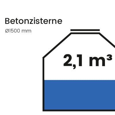 Betonzisterne-2100l