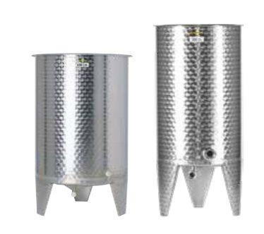 Edelstahlbehälter-offen-Lagertank