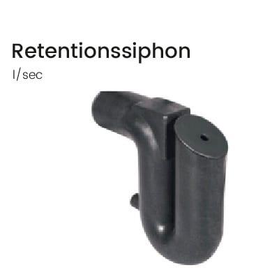 Retentionssiphon-Ablussregulierung