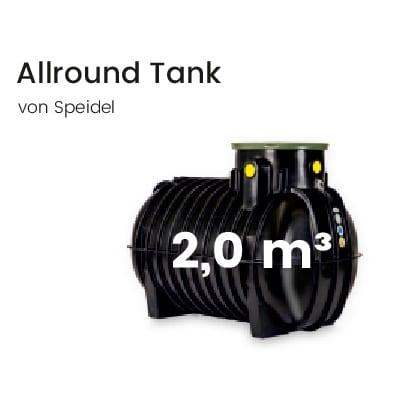 Speidel-Kunststofftank-2000l