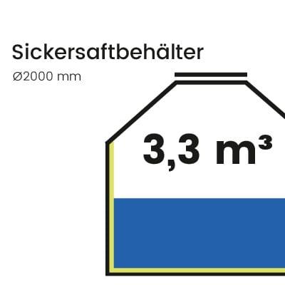 Sickersaftbehälter-3300l