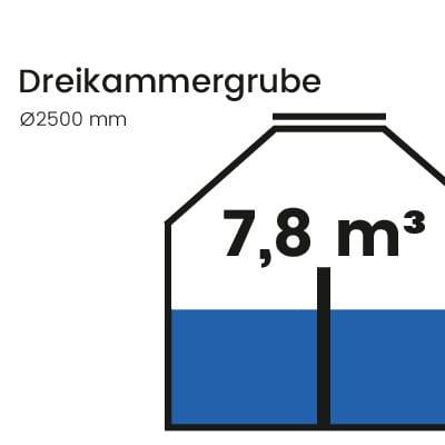 Dreikammergrube-7800l