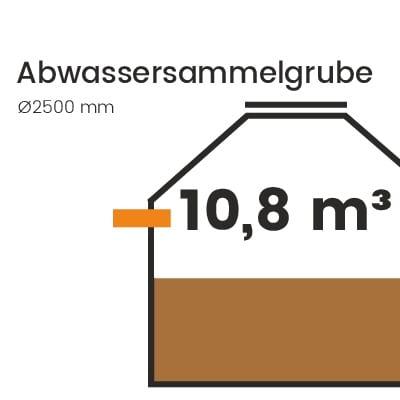 Abwassersammelgrube-10800l