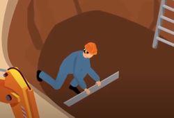 Untergrund-begradigen-Zisternen-Einbau
