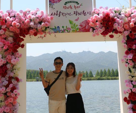 Let's Enjoy the 2018 Rose Festival(장미 축제) in Seoul Grand Park !