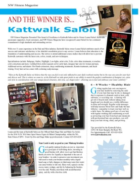 Kattwalk Salon - Hair / Make up