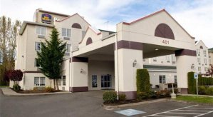 Host Hotel – Best Western Plus – Mountain View Auburn Inn, 401 8th St. SW Auburn WA 98001