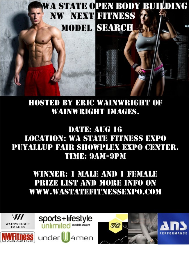 NW Fitness Model Search, Presented by Wainwright Images