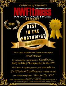 "NW Fitness Magazine ""Best in The NW"" Recognition of Excellence"